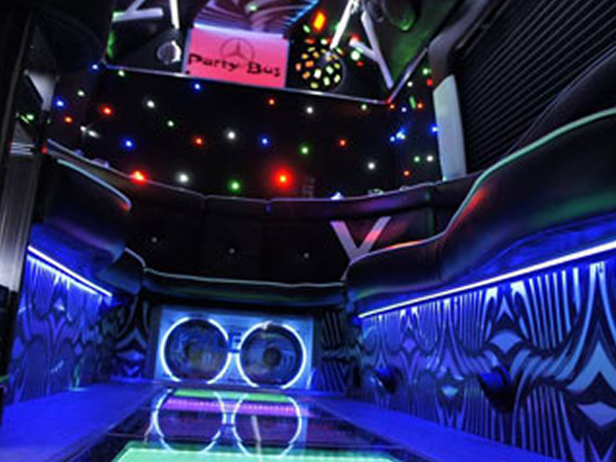 Proginio transporto nuoma (Party bus)